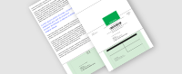 Certified Self Mailer - with Green Card Receipt